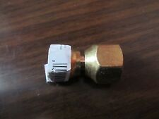 "Swivel Flare Connector 1/2"" x 3/8"" Flare #47213  NEW  Copper"