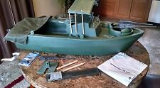HTF JAMES DeSIMONE RIVER PATROL BOAT GI JOE 12IN 1999  39IN J99