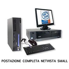 PC COMPUTER RICONDIZIONATO POSTAZIONE COMPLETA PENTIUM 4 XP WINDOWS USBHARD DISK