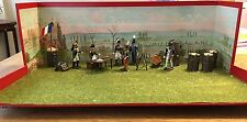 CBG Mignot Large Diorama Of Napoleons Camp. C1970s-80s. Rare 54mm