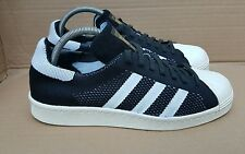 ADIDAS SUPERSTAR 80's PRIME KNIT BLACK AND WHITE LIMITED EDITION SIZE 7 UK MINT