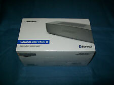 NEW Bose 725192-1310 SoundLink Mini II Wireless Bluetooth Speaker Pearl Sealed