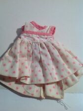 Vintage Untagged Valentine's Day Hearts Party Dress Vintage Doll