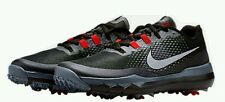 Nike TW 15 Tiger Woods Golf Shoes Men's US 8.5 Black Red 704885-001 NEW