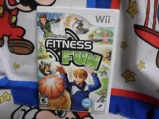 Nintendo Wii Family Party Fitness Fun Game COMPLETE