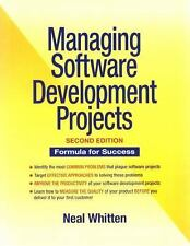 Managing Software Development Projects (Neal Whitten)  2nd Ed.  -  VERY GOOD  !!