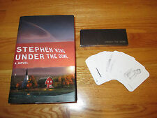 "Horror Author STEPHEN KING ""UNDER THE DOME"" 2009 Book w/ Limited Edition Cards"