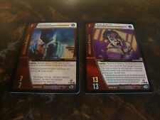 VS System---DC Origins---DOR---Foil Rares---Lot Of 2---Batman & The Joker
