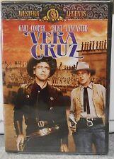 Vera Cruz (DVD 2001) RARE GARY COOPER BURT LANCASTER 1954 BRAND NEW MGM