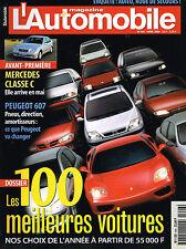 magazine automobile: L'automobile N°646 avril 2000