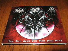 "THE TRUE ENDLESS / EVIL WRATH / GROMM ""Split"" CD  forgotten tomb opera IX marduk"