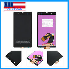 F/Sony Xperia Z C6602 C6603 L36 L36H LCD + Touch Screen Digitizer Assembly Black