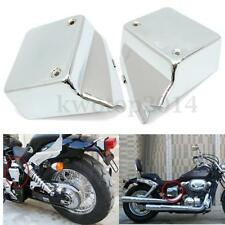 Battery Side Metal Cover For Honda Shadow Spirit VT750 DC00-09 Black Widow 00-07