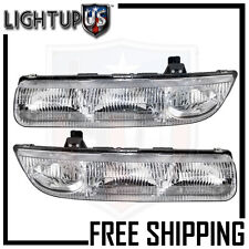 Headlights Headlamps Pair Left right set for 96-99 S Series Sedan or Wagon