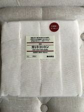 180 Authentic MUJI Japanese Organic Untreated Cotton Pads 60X50MM APPROX