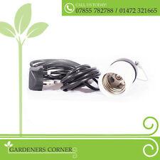 Hidropónicas CFL sostenedor de la lámpara de grow luz lámpara Colgante Con E40 de montaje 5m Cable 240v