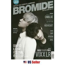KPOP KOREAN STARS BROMIDE MAGAZINE 2015 October EXID VIXX RED VELVET CNBLUE DAY6