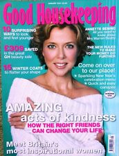 Good Housekeeping Magazine January 2007 Annette Bening