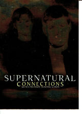 SUPERNATURAL CONNECTIONS TRADING CARDS PROMO CARD P-UK