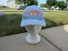 Harley Davidson Girls Youth Baseball Cap Hat Hearts Blue Multi-Color