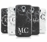 MONOGRAM MARBLE INITIALS MOBILE PHONE CASE COVER FOR SAMSUNG GALAXY S4