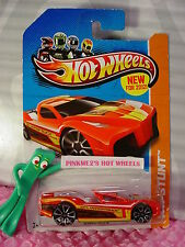 Case P 2012  #13 Hot Wheels HYPERTRUCK∞RED∞HW STUNT∞New for 2012
