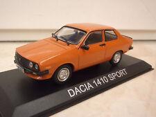 DACIA 1410 SPORT IDEM RENAULT12 R12 1/43 IXO -LEGENDARY CAR AUTO-B26