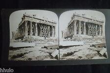 STB431 Greece Grece Athenes Parthenon stereoview photo STEREO albumen