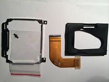 Dell D420 D430 HDD caddy, adapter and rubber protector completed kit w screws