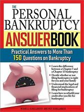 The Personal Bankruptcy Answer Book: Practical Answers to More than 17-ExLibrary