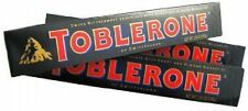 TOBLERONE  DARK CHOCOLATE (IMPORTED) 100Gm  PACK OF 4 Pcs