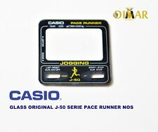 VINTAGE GLASS ORIGINAL  CASIO J-50 SERIE JOGGING