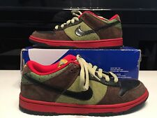 "Nike SB Dunk Low Premium US 10.5 ""Asparagus"" What The Lance Forbes Supreme"