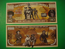 BEVERLY HILLBILLIES TV Show    $1,000,000 One Million Dollar Bill: United States