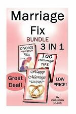 Marriage Fix : Fix Your Marriage: 3 Marriage Books in 1 (Marriage Problems,...
