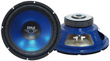 "Single 12"" inch Blue 4 ohm Performance Car Home Audio Stereo Woofer Bass Speaker"