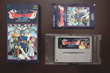 Super Famicom SFC Dragon Quest 1 2 I+II boxed Japan SNES game US Seller