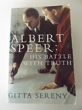 1996 ALBERT SPEER: His Battle with Truth by GITTA SERENY WWII Nazi MILITARY