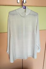 MARIO ROSELLA white  Women Shirt  size   48 Ladies Long Sleeve Blouse  Tops