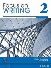 Focus on Writing No. 2 by David Wiese, Natasha Haugnes and Helen S. Solorzano...