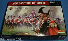 STRELETS Set 140. HIGHLANDERS IN MARCIA. NAPOLEONICO. SCALA 1/72.