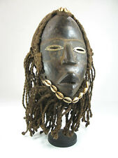 "Masque Dan ""dread""- Dread  Dan mask - african mask - dreadlocks"