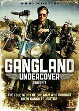 GANGLAND UNDERCOVER SEASON 1 New Sealed 2 DVD Set History Channel