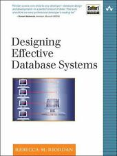 Designing Effective Database Systems (The Addison-Wesley Microsoft Tec-ExLibrary