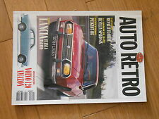 AUTO RETRO N137 LANCIA FULVIA ZAGATO, VOLVO 120 AMAZON, BENTLEY SPEED SIX