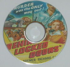 FILM NOIR: BEHIND LOCKED DOORS 1948 Budd Boetticher Lucille Bremer Carlson