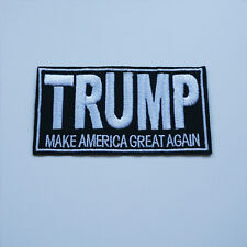 Embroidery TRUMP MAKE AMERICA GREAT AGAIN Sew Iron On Patch Badge Hat Applique