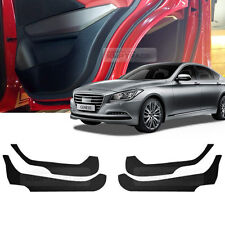 Carbon Door Decal Sticker Cover Kick Protector for HYUNDAI 2014-2016 Genesis DH