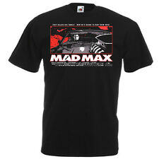 MAD MAX 1  Movie Poster T shirt Black all sizes