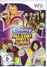 """Disney Channel-All Star Party Games"" (Nintendo Wii)"